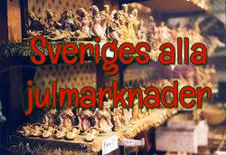 Sveriges alla julmarknader - en lång lista