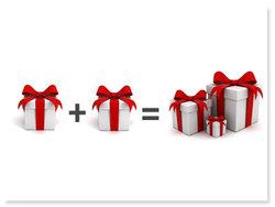 7 tips på kombinerade presenter och presentpaket