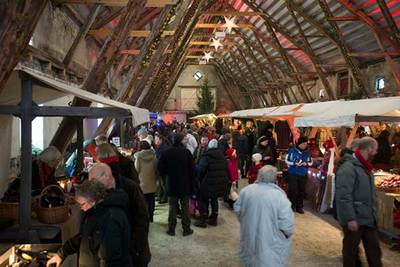 Foto från Jul på Övedskloster