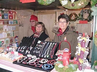Foto från Kvarntorgets gammeldags julmarknad