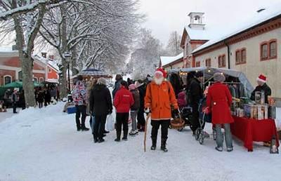 Foto från Julmarknad i Karlslund