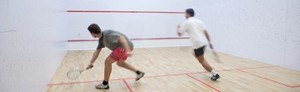Privatlektion i Squash