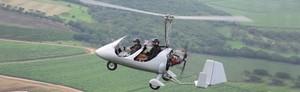 Provflyg en gyrokopter