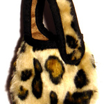 Mobilväska i leopardmönster