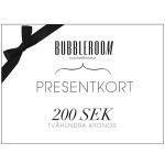 Presentkort Bubbleroom