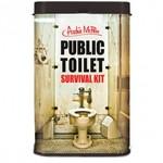 offentlig toalett överlevnadskit