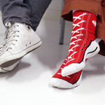Sneaker socks strumpor