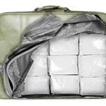 Roliga klistermärken till resväskan