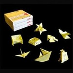 origami post-it sticky notes