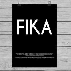 Fina canvas poster