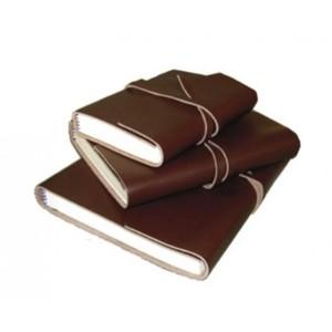 Läderbok för anteckningar