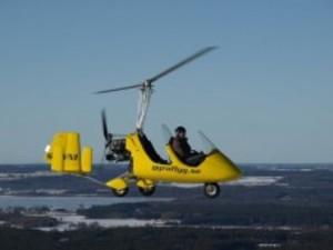 Gyrokopterflygning