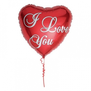Folieballong I Love You