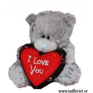 Liten nalle som älskar dig