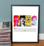 The Beatles Pop Art-poster