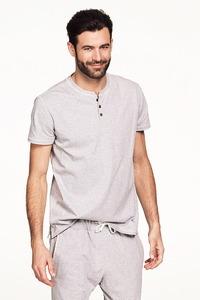 Pyjamas t-shirt kort ärm i ekologisk bomull