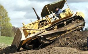 Provkör grävmaskiner