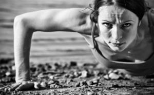 Military fitness training för två