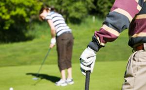 Golfdag för två