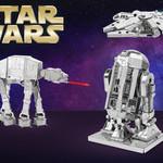 Byggbara metallmodeller från Star Wars