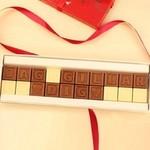 choklad med egen text